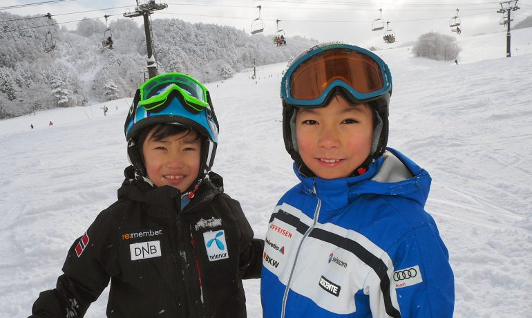 スキー in 木島平