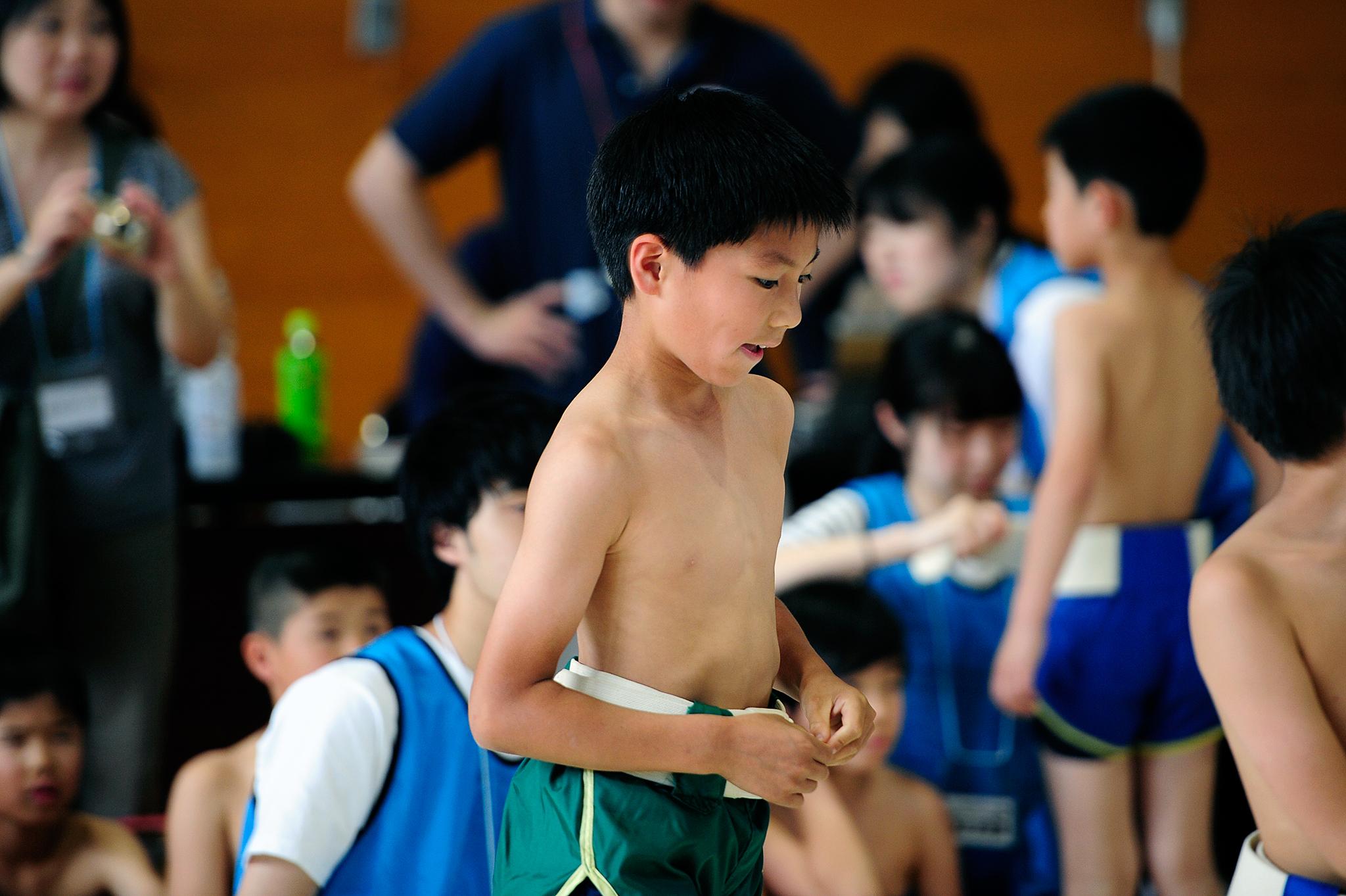 わんぱく相撲大会
