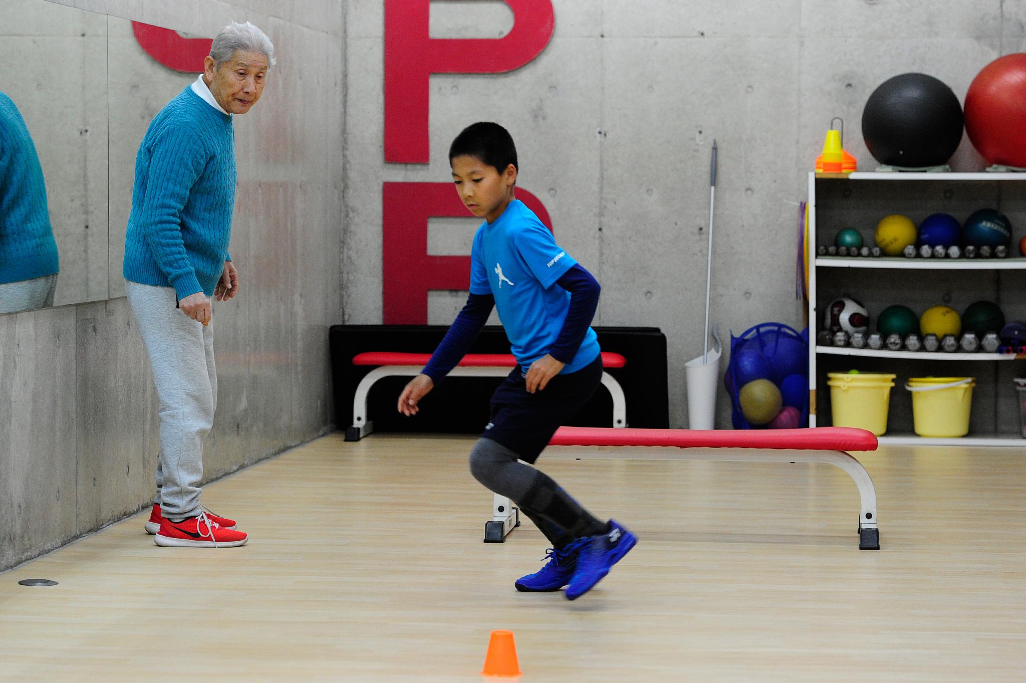 TPP 田中洋先生とのトレーニング 1月 #3