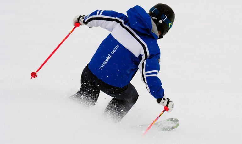 木島平でスキー