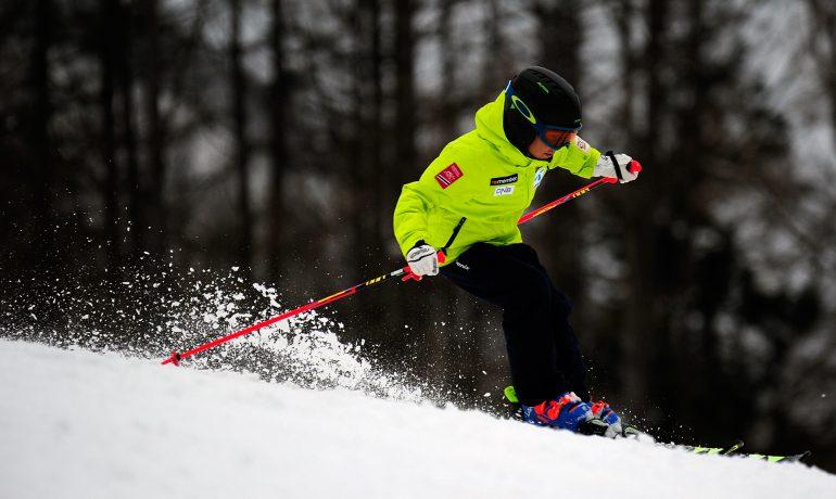 スキートレーニング in 木島平